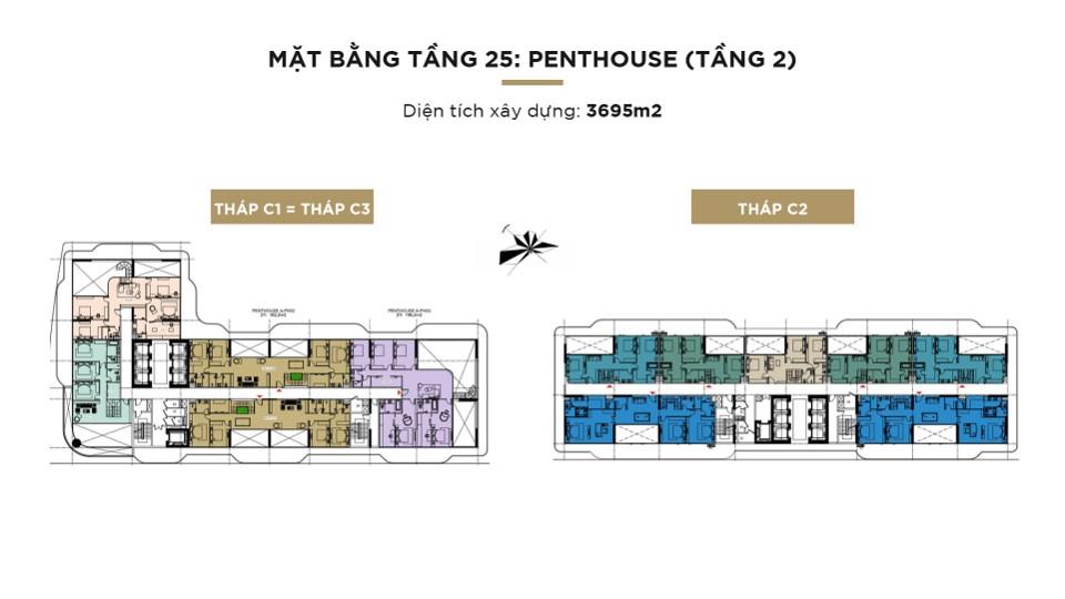 Mat bang tang 25 penthouse