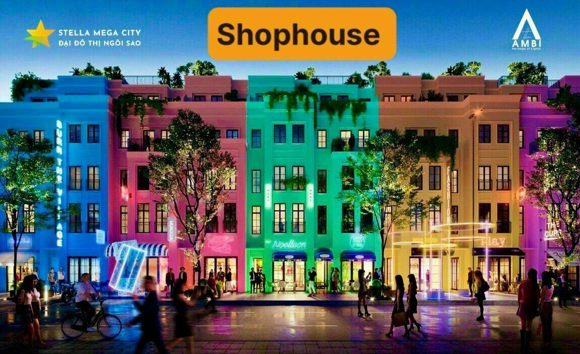Shophouse phố đi bộ